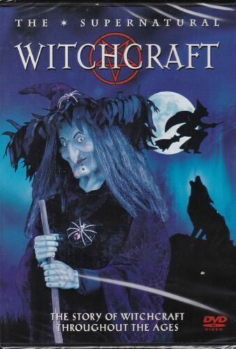 WITCHCRAFT THE STORY OF WITCHCRAFT THROUGHOUT THE AGES -Educational DVD NEW