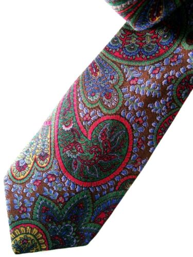 CRAVATTA UOMO (TIE)  vintage ETRO Milano made in Italy  New! rare