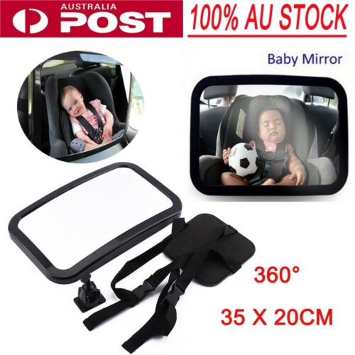 Car Baby Seat Inside Mirror View Back Safety Rear Facing Care AU Stock