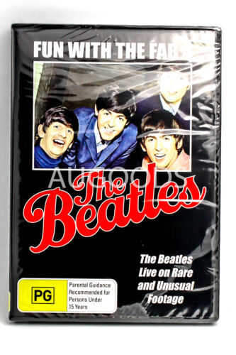 The Beatles - Fun With The Fab 4 - Series Rare- Aus Stock DVD NEW