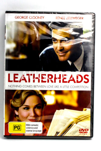 Leatherheads- MOVIE - NEW RARE DVD - AUS Stock Region 4
