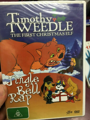 Timothy Tweedle - The First Christmas Elf / Jingle Bell Rap  PAL DVD NEW SEALED
