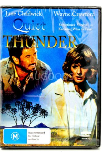QUIET THUNDER -JUNE CHADWICK -WAYNE CRAWFORD- MOVIE - NEW DVD - AUS Region 4