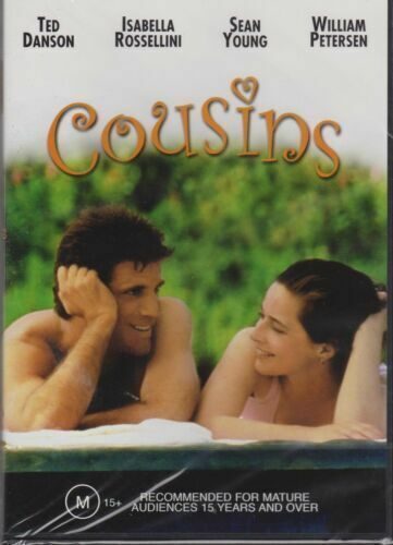 COUSINS - TED DANSON - ISABELLA ROSSELLINI  RARE FILM MOVIE PAL DVD NEW SEALED