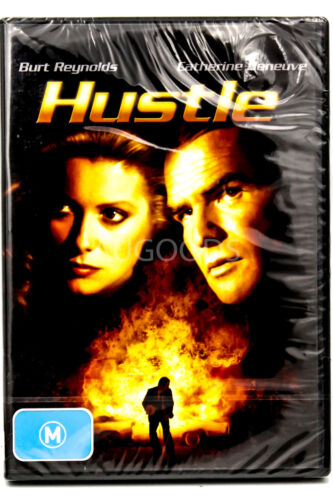 Hustle  REGION 4 RARE FILM MOVIE PAL DVD NEW SEALED AUSSIE STOCK