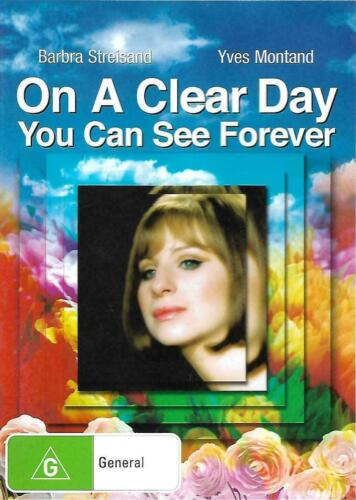 ON A CLEAR DAY YOU CAN SEE FOREVER - BARBRA STREISAND Region 4 NEW MOVIE DVD AUS