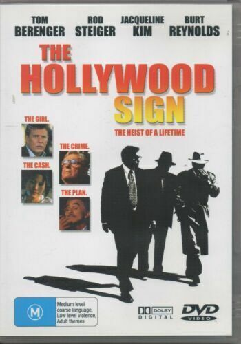 The Hollywood Sign: Heist of a Lifetime - Rare DVD Aus Stock New Region ALL