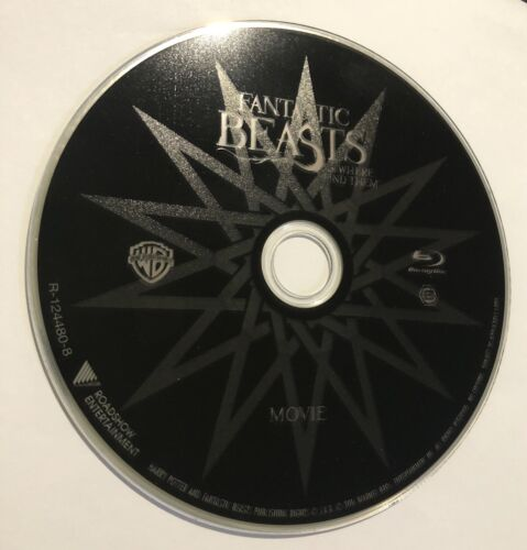 Fantastic Beasts And Where To Find Them (Blu-Ray Disc Only) VGC Region B Aus