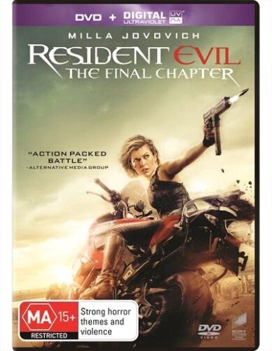 Resident Evil - Final Chapter - Dvd Like new