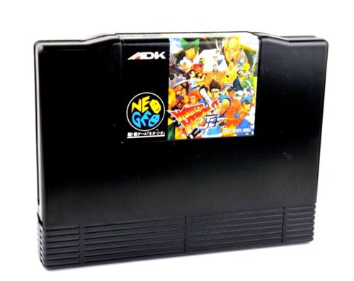 World Heroes 2 Jet  Neo Geo Snk Aes System Japan (Loose)