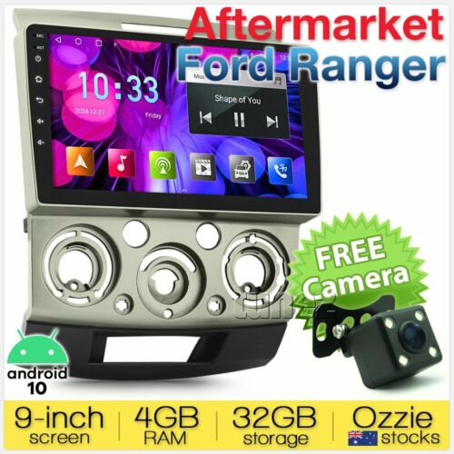 "9"" Android Car MP3 Player For Ford Ranger PJ PK Radio Stereo Head Unit GPS MP4 Z"