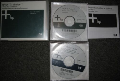 HP-UX 11.11 v2 Mission Critical OE ISO CDs #1-4
