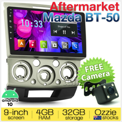 "9"" Android Car MP3 Player For Mazda BT-50 BT50 UN Radio Stereo Head Unit GPS MP4"