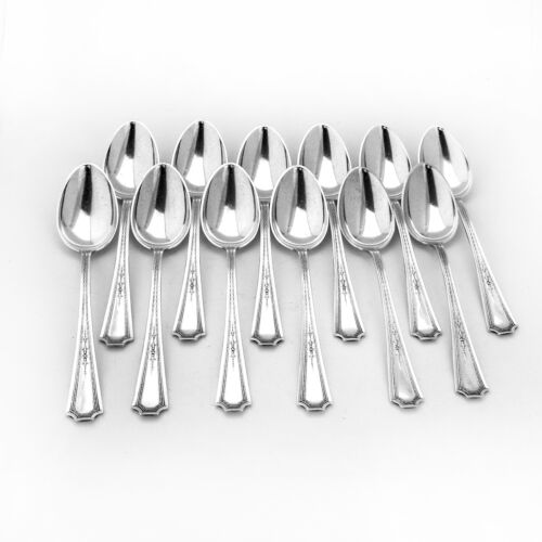 Colfax Teaspoons 12 Sterling Silver Durgin 1922
