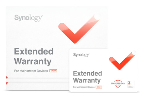 Synology EW201 2 years extended warranty for DS1819+, DS1618+, DS1019+, DS918+