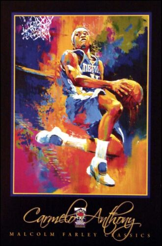 """Malcolm Farley """"Carmelo Anthony"""" Poster Basketball player Make an Offer!"""