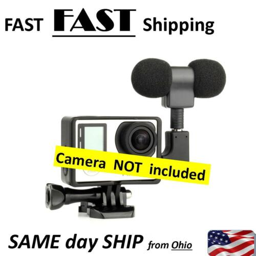 BLOG camera microphone - stereo mic for sports cam