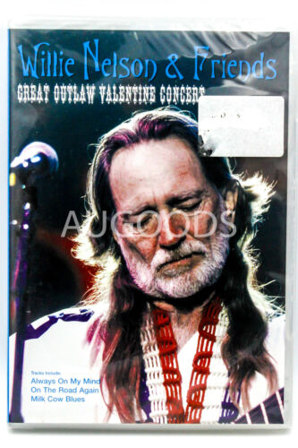 WILLIE NELSON & FRIENDS GREAT OUTLAW VALENTINE CONCERT -DVD -Music New