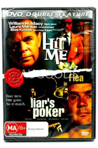 Hit Me / Liars Poker Double Feature - Region All Rare- Aus Stock DVD NEW