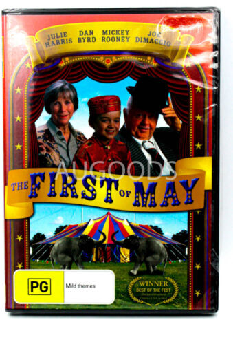 The First of May -Rare DVD Aus Stock -Family New Region 4