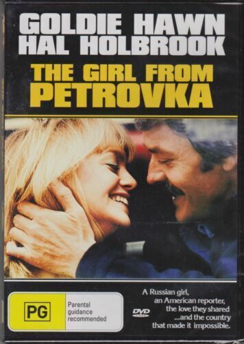 THE GIRL FROM PETROVKA - GOLDIE HAWN - HAL HOLBROOK  MOVIE PAL DVD NEW SEALED