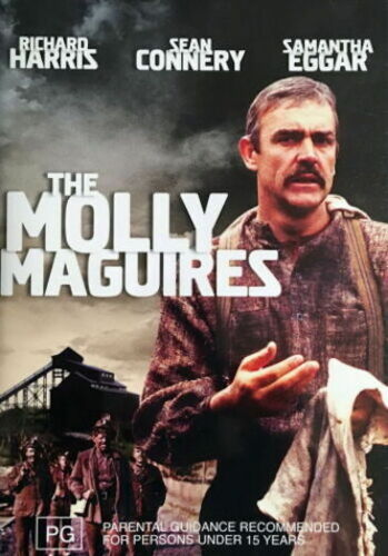 The Molly Maguires - Action / Drama / Crime Investigation / Violence NEW SEALED
