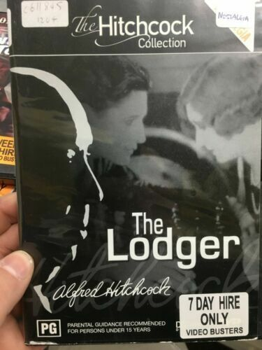 The Lodger region 4: 1927 Alfred Hitchcock RARE FILM MOVIE PAL DVD NEW SEALED