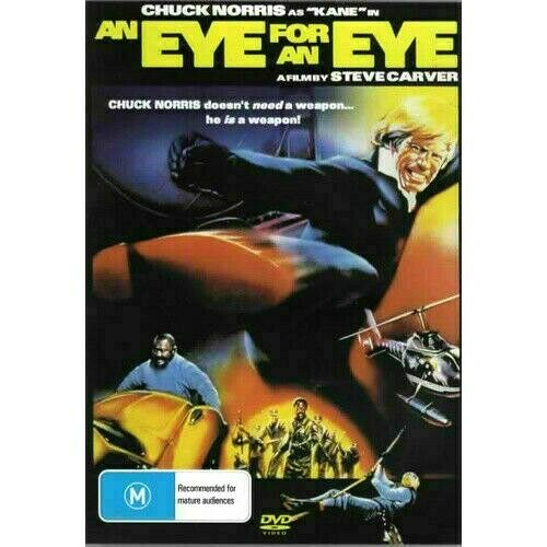 An Eye for an Eye - Chuck Norris  New and Sealed DVD