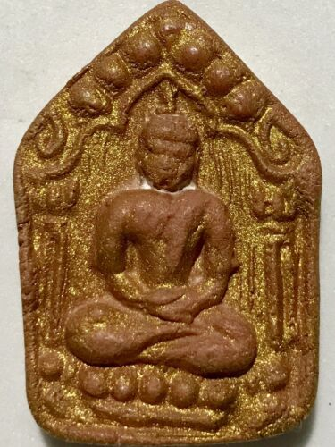 PHRA KHUNPAN PRAYKUMAN LP TIM CHARM RARE OLD THAI BUDDHA AMULET PENDANT MAGIC#29