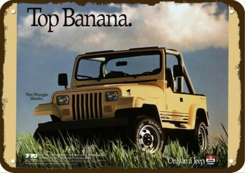 1973 SUPER JEEP 4X4 Vintage Look REPLICA METAL SIGN NOT A BIRD OR PLANE