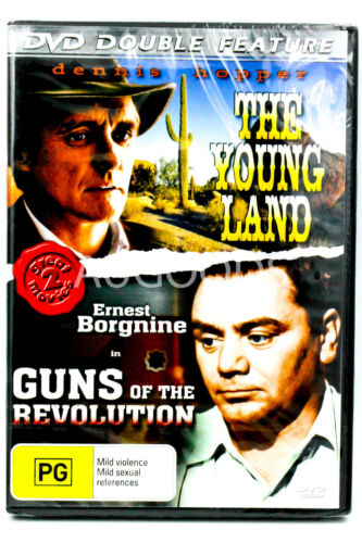 The Young Land / Guns of the Revolution - DVD Double Feature PAL DVD NEW SEALED