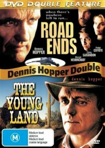 Road Ends / The Young Land Dennis Hopper Region 4 MOVIE PAL DVD NEW SEALED