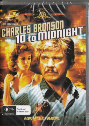 10 to Midnight - Charles Bronson New and Sealed DVD