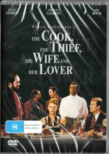 The Cook, the Thief, His Wife & Her Lover -  New Region ALL DVD ( PAL )