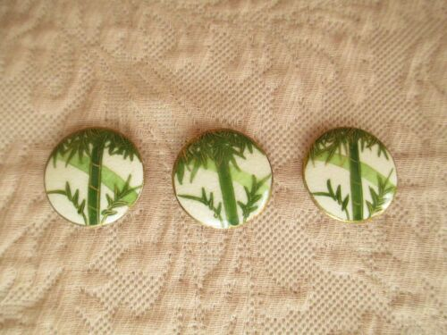 Vintage / Antique Satsuma Buttons