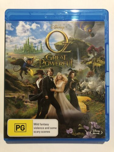 Oz The Great And Powerful Like NEW PG Disney Movie 🍿 Rated PG Multi Region