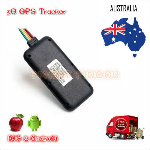 3G GPS TRACKER REAL-TIME ANTI-THEFT TRACKING DEVICE 3G WCDMA VEHICLES TRACKER AU