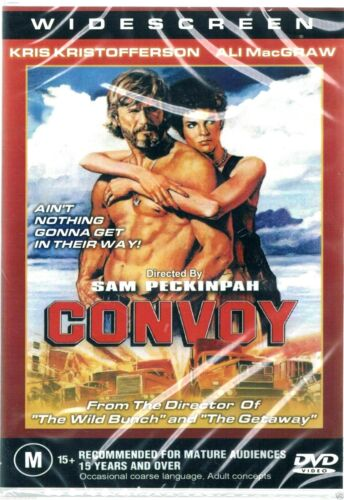 Convoy - Kris Kristofferson New and Sealed   DVD