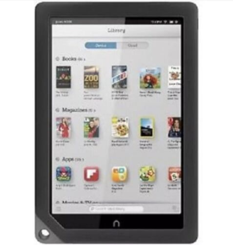 8/10 GRADE Barnes & Noble Nook HD+ Tablet Upgraded SD to 32GB Wi-Fi BUNDLE HD 9""