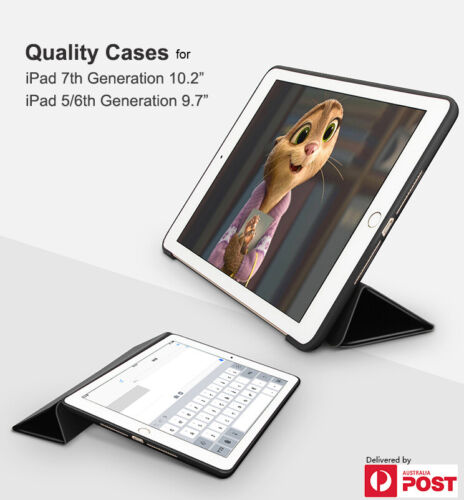 iPad Case for 8th Gen/ 7th Gen/ 6th Gen/ 5th Gen/ Air 2 3 Smart Cover Stand Case
