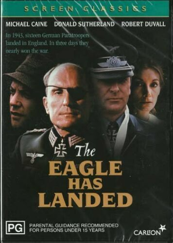 The EAGLE HAS LANDED Michael CAINE Donald SUTHERLAND Robert DUVALL DVD NEW Reg 4