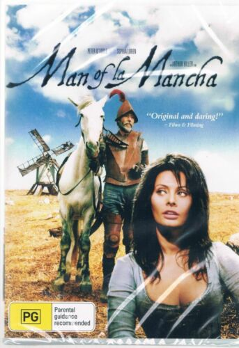 Man of La Mancha - Peter O'Toole New and Sealed  DVD