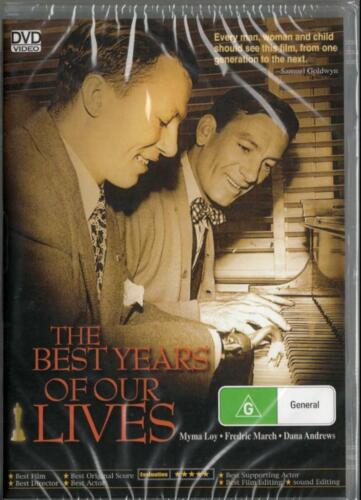 The Best Years of Our Lives - Myrna Loy - New Region All DVD