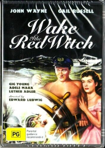 Wake of the Red Witch - John wayne - New Region All DVD ( PAL )