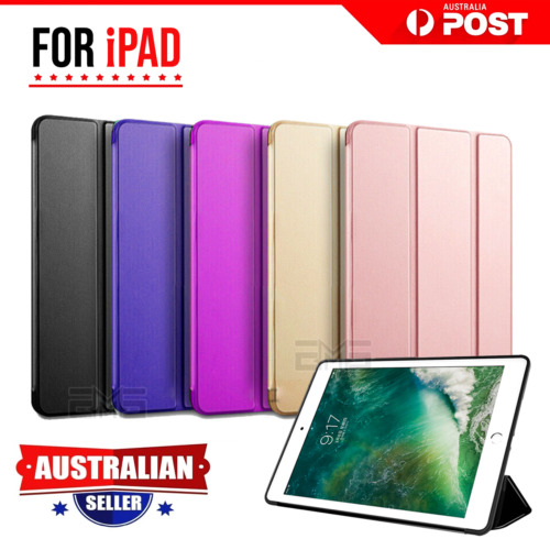 For Apple iPad 7th 6th 5th Gen Air 1 2 Leather Shockproof Flip Smart Case Cover