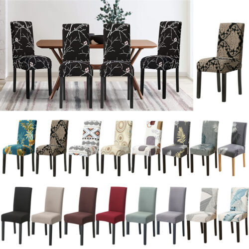 Stretch Chair Cover Seat Covers Spandex Lycra Washable Banquet Wedding Party NEW