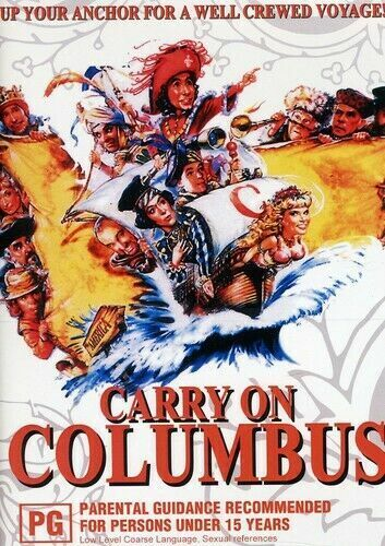 Carry on Columbus - New Region All DVD ( PAL )