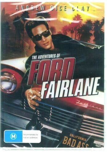 The Adventures Of Ford Fairlane -  DVD -  New and Sealed Australia All Regions