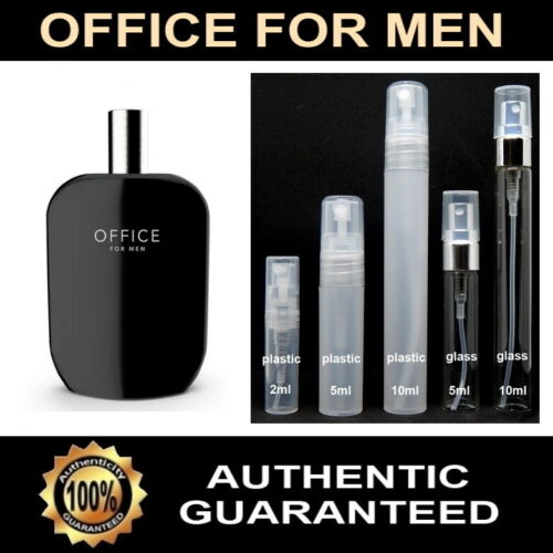 OFFICE FOR MEN by Fragrance One (Jeremy Fragrance) Sample - 2ml 5ml 10ml sizes