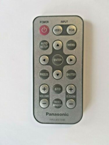 Genuine PANASONIC N2QADC000011 Projector Remote For PT-L711U PT-L701U PT-L501U